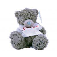 Плюшевый мишка Teddy (15 см) в белой ф...
