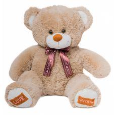 Плюшевый медвежонок Амур 80 см (кофейн...