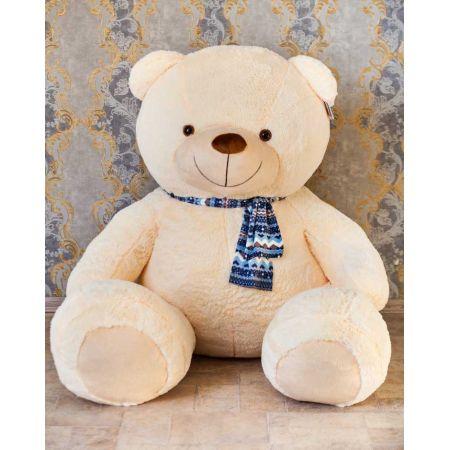 Большой медведь Тарас 210 см (чайная роза)