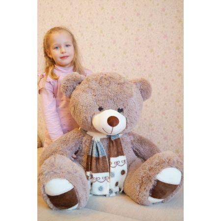 Плюшевый медведь Мартин 110 см (бурый)