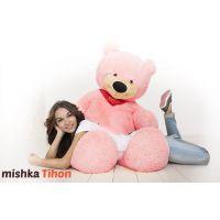 Плюшевый медведь Тихон 150 см (розовый...