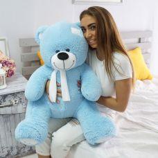 Плюевый медведь Артур 100 см (голубой)...