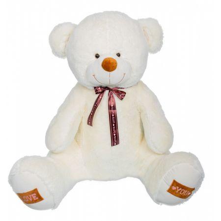 Плюшевый медведь Амур 190 см (молочный)
