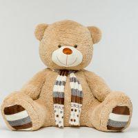 Плюшевый медведь Мартин 230 см (кофейн...