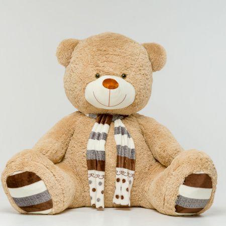 Плюшевый медведь Мартин 230 см (кофейный)