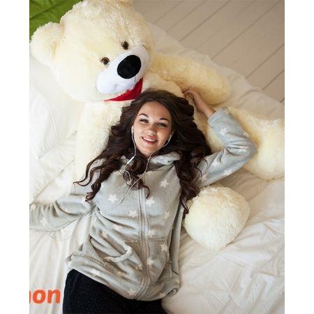 Плюшевый медведь Тихон 130 см (белый)