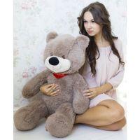 Мягкий медведь Тихон 90 см (кофейный)...