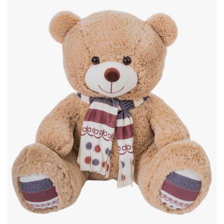 Плюшевый медведь Мартин 110 см (кофейный)