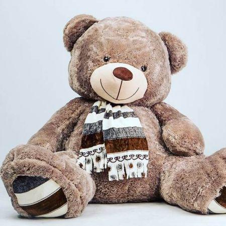 Плюшевый медведь Мартин 230 см (бурый)