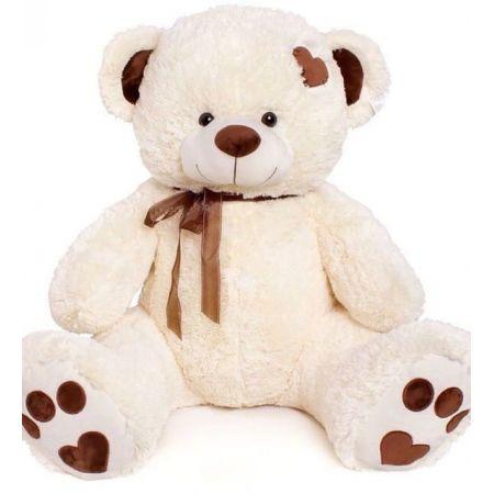 Плюшевый медведь Джордж 120 см (молочный)