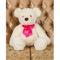 Плюшевый медведь Оливер 80 см (белый)...