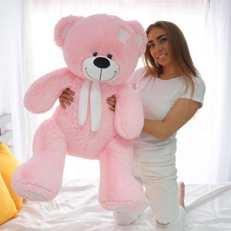 Плюшевый медведь Артур 130 см (розовый)