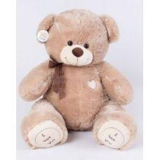 Плюшевый медведь Томас 120 см кофейный...