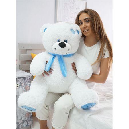 Плюшевый медведь Артур 100 см (белый)