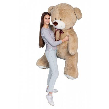 Плюшевый медведь Амур 190 см (кофейный)