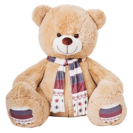 Плюшевый медведь Мартин 145 см (кофейный)