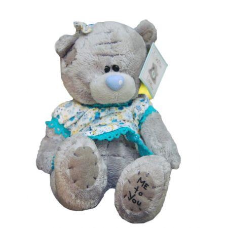 Плюшевый мишка Teddy (15 см) в платье