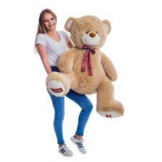 Плюшевый медведь Амур 140 см (кофейный...