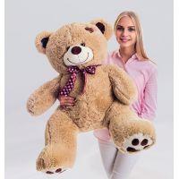 Плюшевый медведь Джордж 120 см (кофейн...