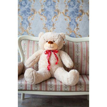Мягкий плюшевый медведь Феликс 120 см (бежевый)