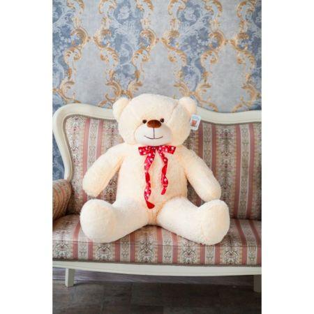 Мягкий плюшевый медведь Феликс 120 см (чайная роза)