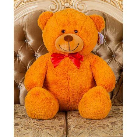 Плюшевый медведь Тарас 110 см (карамель)