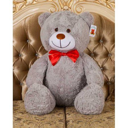 Мягкий медведь Тарас 110 см (серый)