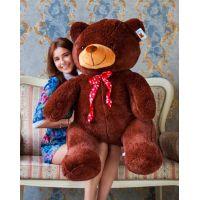 Мягкий медведь Тарас 140 см (бурый)...