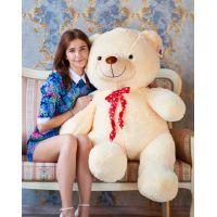 Плюшевый медведь Тарас 140 см (чайная ...