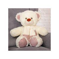 Плюшевый медведь Тонни 120 см (молочны...